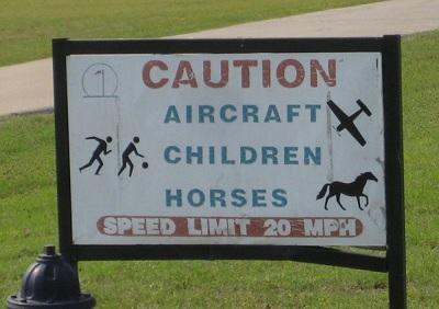 AircraftHorsesSign